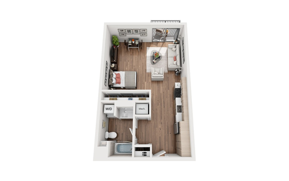 S2 Studio Floor Plan
