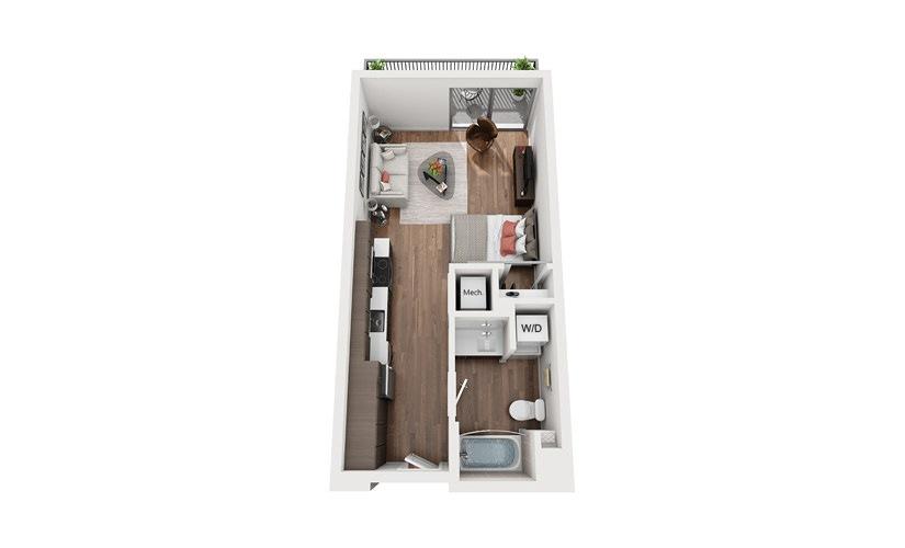 S1b Studio Floor Plan