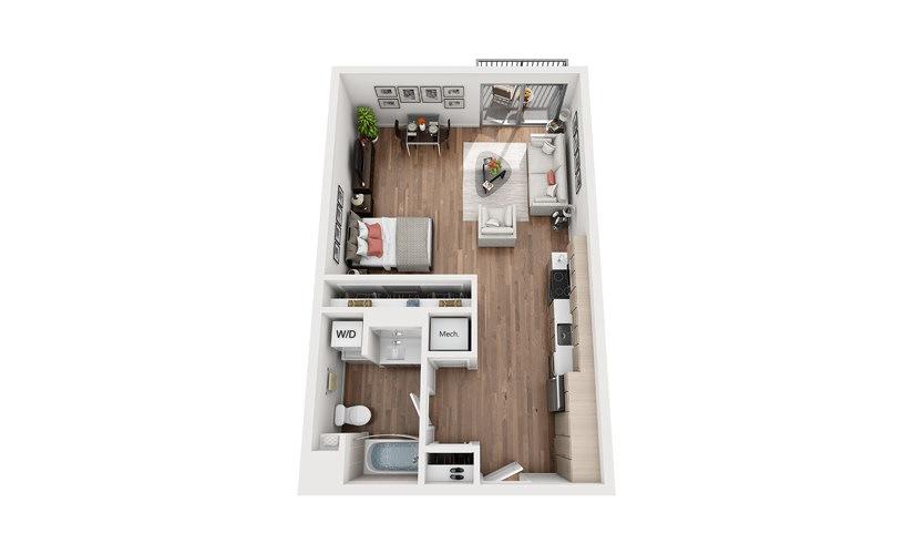 S2 Studio Floor Plan